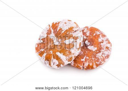 Dried Sweetened Tangerine, An Common Ingredient In Traditional Chinese Medicine