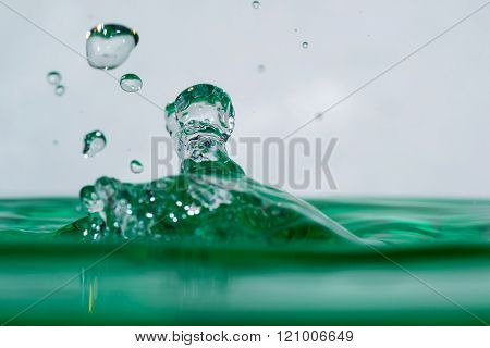 Surface Liquid Drop