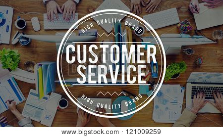 Customer Service Assistance Care Concept