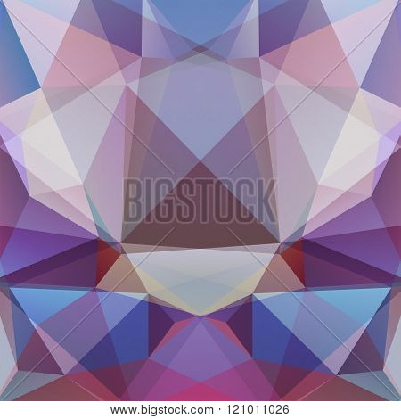 Abstract Geometric Style Violet Background. Violet Business Background Vector Illustration