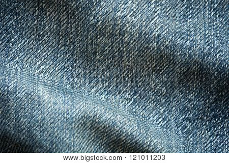 Blue Denim Jean Texture Background