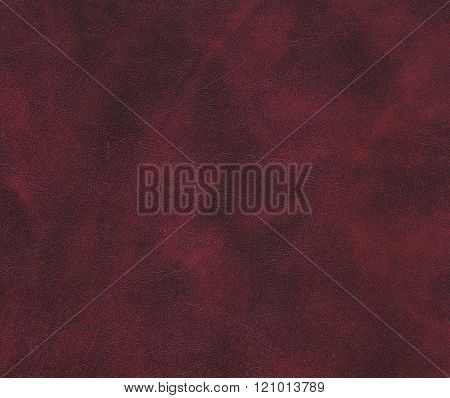 Red And Brown Leather Texture.