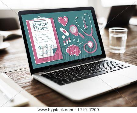 Diagnose Medical Illness Hospital Healthcare Concept
