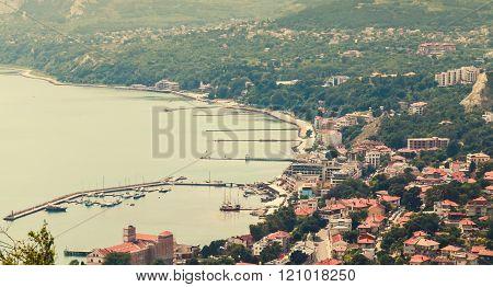 Balchik Town Cityscape, Black Sea, Bulgaria