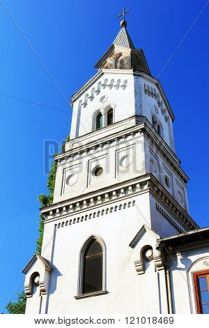 Sancta Maria Gratiarum Church in Bucharest, Romania, Europe