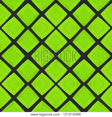 Abstract checkered mosaic tile pattern in moorish style