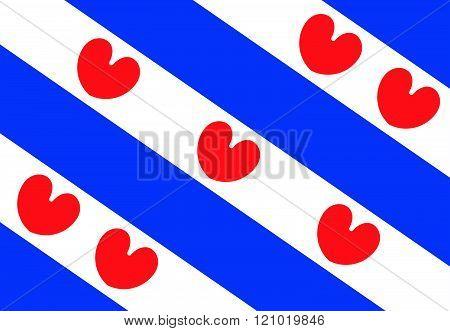 Friesland Flag.