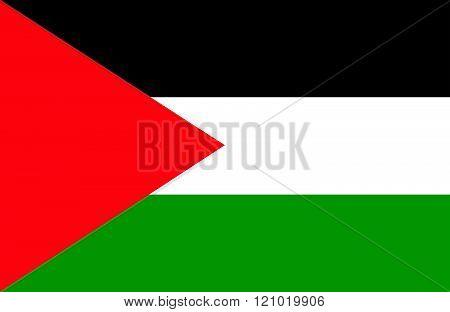 Palestinian Flag.