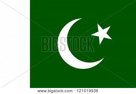 Pakistani Flag.