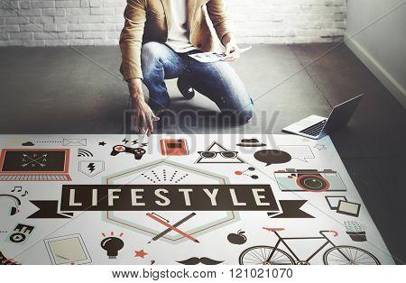 Lifestyle Hobby Passion Habits Culture Behavior Concept