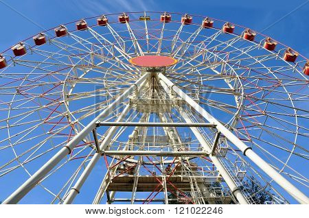 Minsk ferris wheel