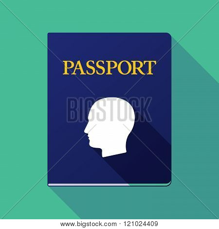 Long Shadow Passport With A G Clef