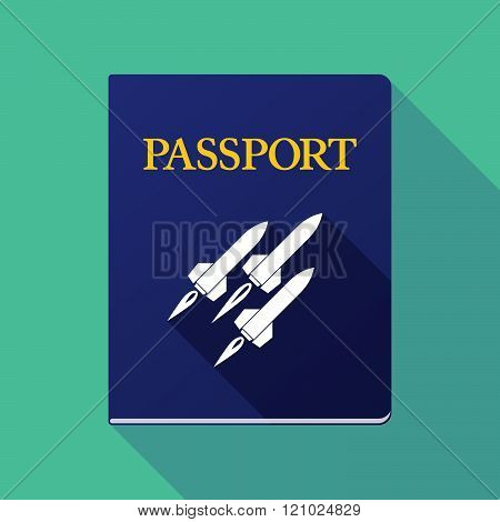 Long Shadow Passport With Missiles