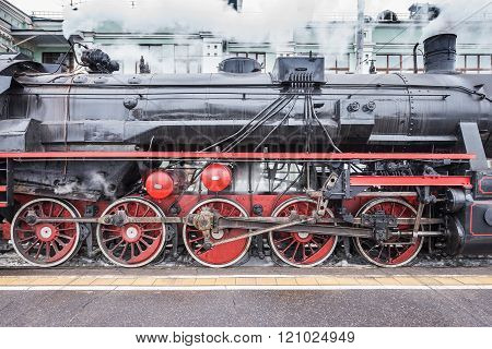 Retro Steam Train.