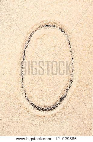 O Letter Written On Sand