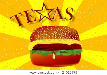 Texas Cheeseburger