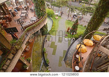 Rain Hill Plaza Commercial Complex In Bangkok