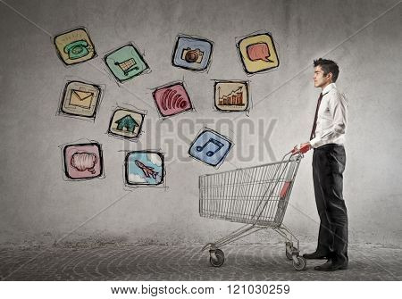 Technological shopping