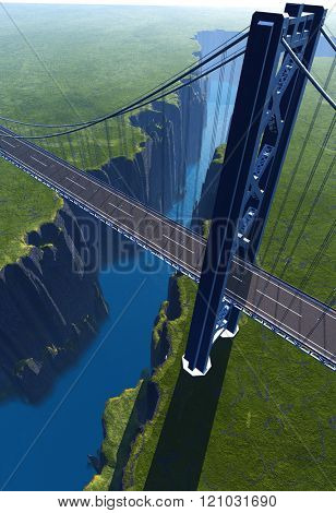 The bridge over the abyss.