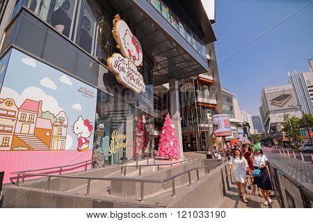 Hello Kitty House In Bangkok: Cafe, Shop & Spa