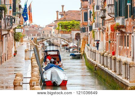 Venice. City Canal.