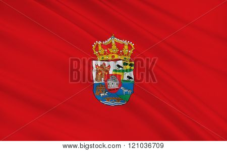 Flag of Avila is a province of central-western Spain