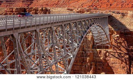 Navajo Bridge in Arizona