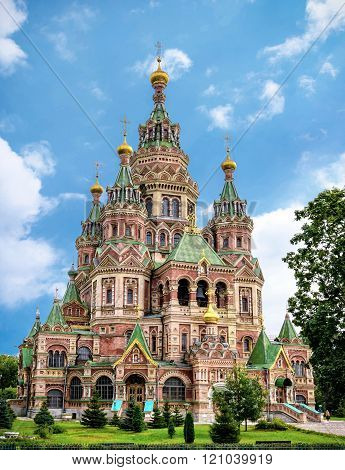 Church of Saints Peter and Paul in Petergof, Saint Petersburg