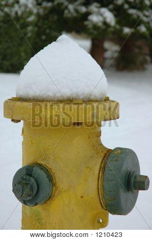 Snow On Fire Hose