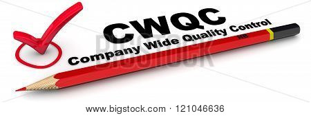 CWQC. Company Wide Quality Control. The Mark