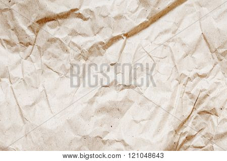 Craft Paper Wrinkled Texture