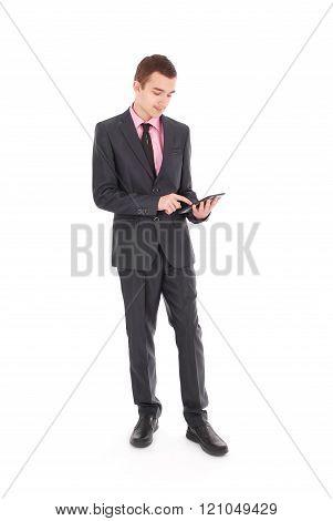 Boy In A Black Suit