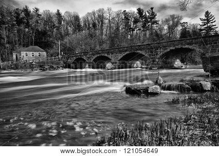 Five span bridge