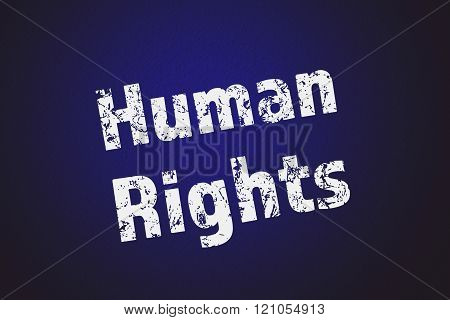 Human rights message