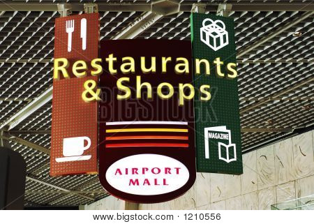 Restaurants And Shops