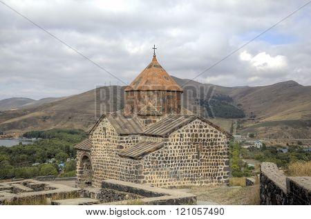 Sevanavank monastery. Lake Sevan, Armenia