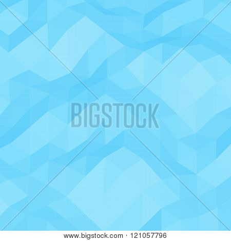 Light-blue abstract triangular background