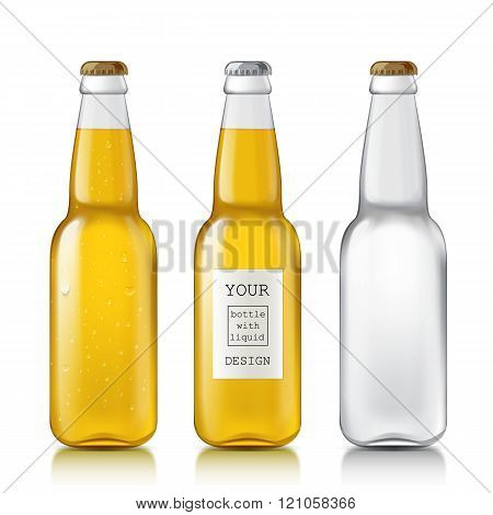 Set realistic bottles.
