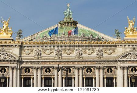 The National Opera House Garnier, Paris, France.