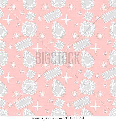 Diamond vector pattern