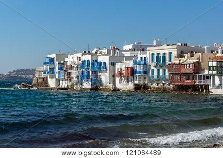 Little Venice at Mykonos, Greece