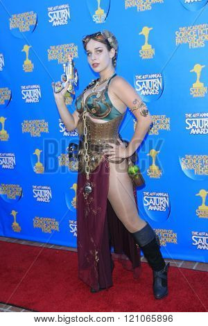 BURBANK - JUN 25: Cosplayer at the 41st Annual Saturn Awards at The Castaway on June 25, 2015 in Burbank, California,