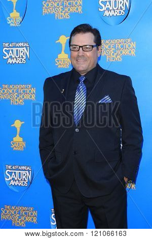 BURBANK - JUN 25: Jeff Rector at the 41st Annual Saturn Awards at The Castaway on June 25, 2015 in Burbank, California,