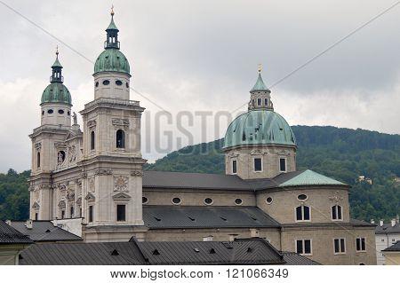 The Dom zu Salzburg in Salzburg, Austria