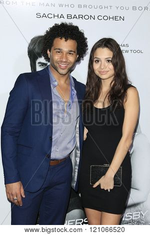 LOS ANGELES - MAR 3: Corbin Bleu at the Premiere of 'The Brothers Grimsby' at the Regency Village Theater on March 3, 2016 in Los Angeles, California