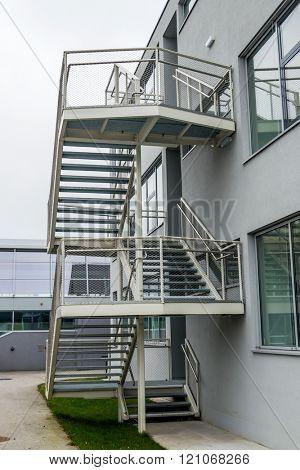 building exterior staircase