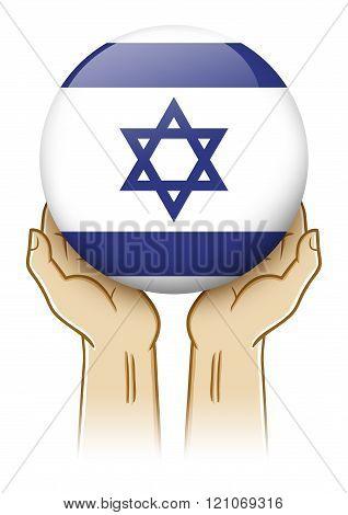 Pray For Israel Illustration