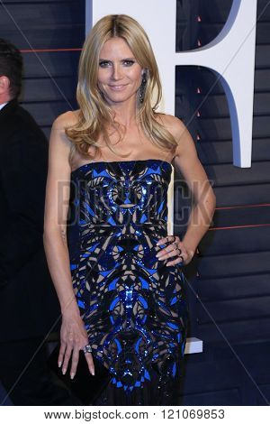 LOS ANGELES - MAR 3:  Heidi Klum at the Bosch Season 2 Premiere Screening at the Silver Screen Theater at the Pacific Design Center on March 3, 2016 in West Hollywood, CA