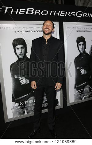 LOS ANGELES - MAR 3:  Louis Leterrier at the The Brothers Grimsby Premiere at the Regency Village Theater on March 3, 2016 in Westwood, CA