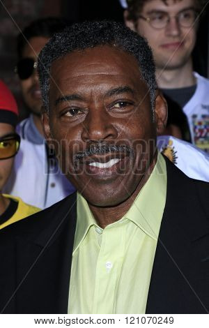 LOS ANGELES - MAR 3:  Ernie Hudson at the The Brothers Grimsby Premiere at the Regency Village Theater on March 3, 2016 in Westwood, CA